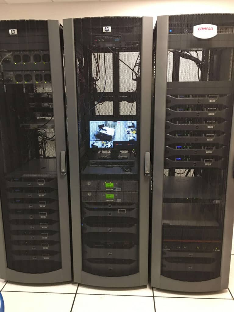 Data Netwrok Cabling for CCTV in an Office in London