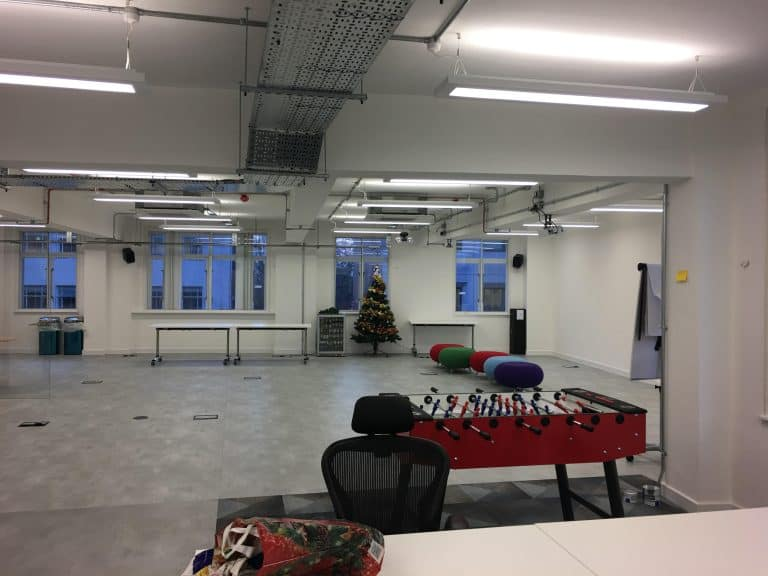 Electrical Refurbishment to an Office in Shoreditch London