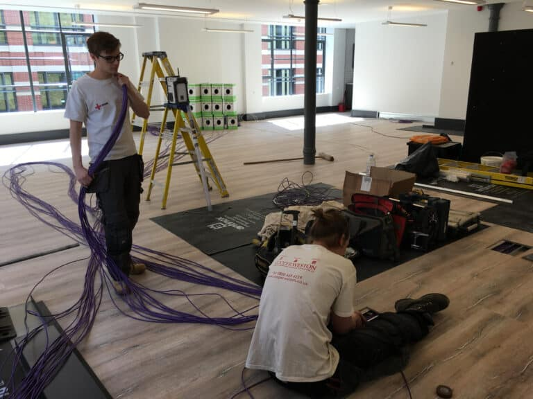 Electrical installation for an Office in Blackfriars London