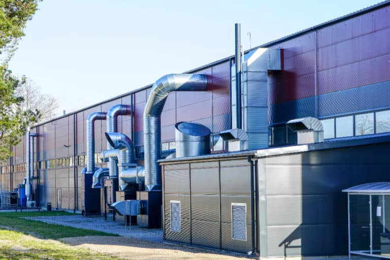 Facotry and Warehouse Heating Ventilation Systems