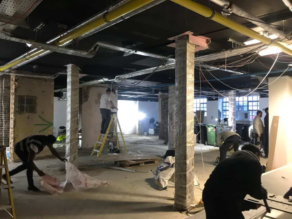 New Electrical Installation to a Warehouse in London