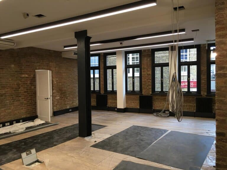 Office Electrical Refurbishment in Covent Garden London