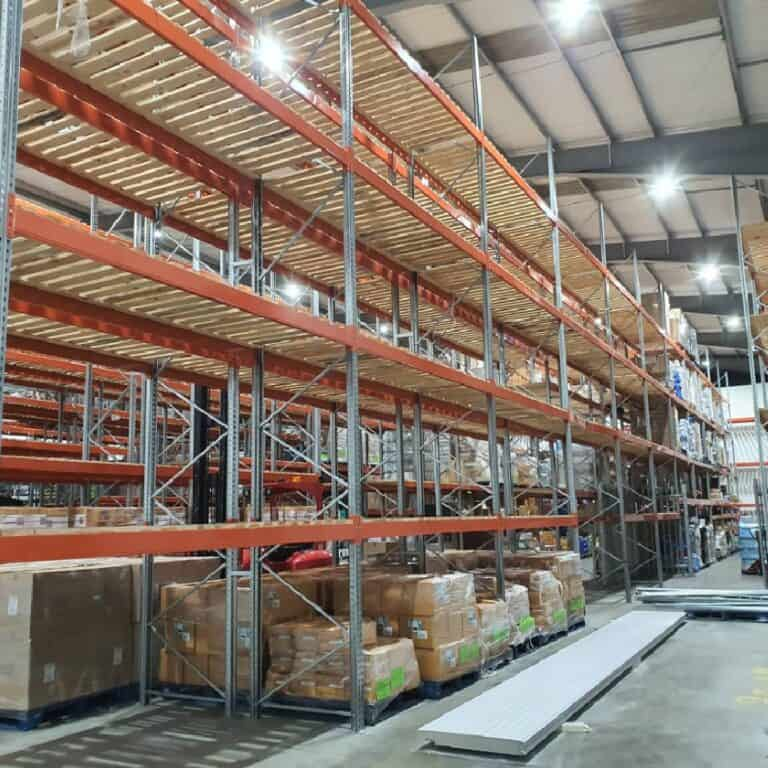 Bicester Warehouse Lighting & Refrigeration Unit Install
